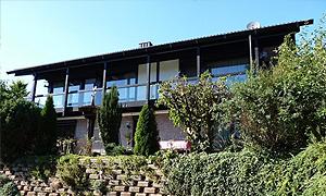 Top modernes Objekt mit Traumgarten und Glasfassade