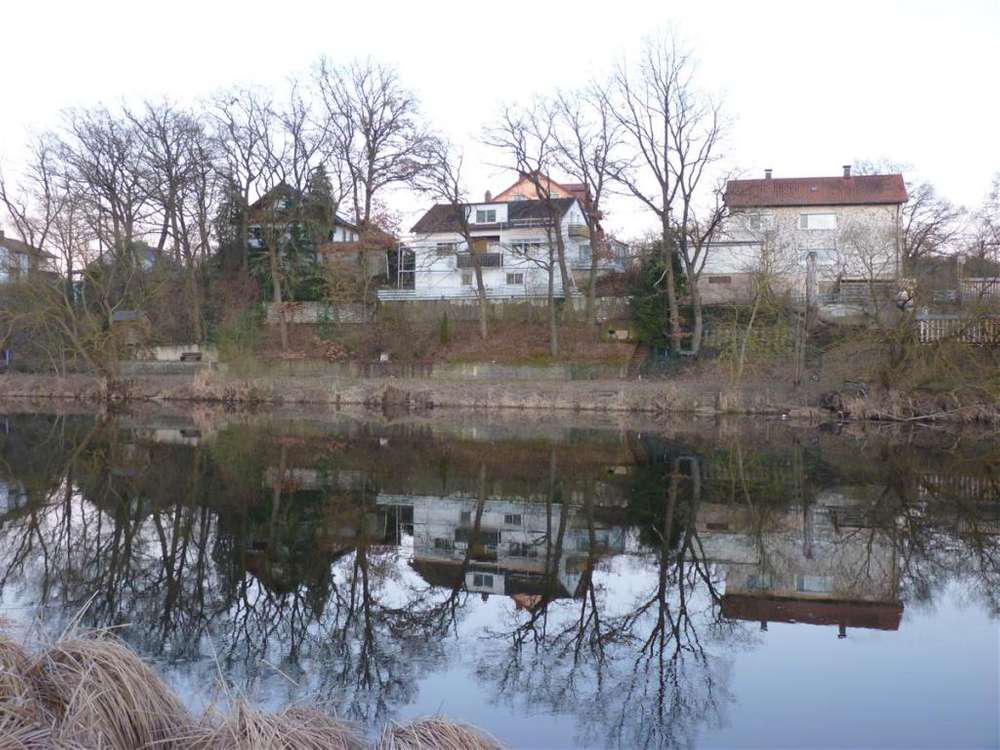 Einfamilienhaus am Regen - Blick aufs Haus