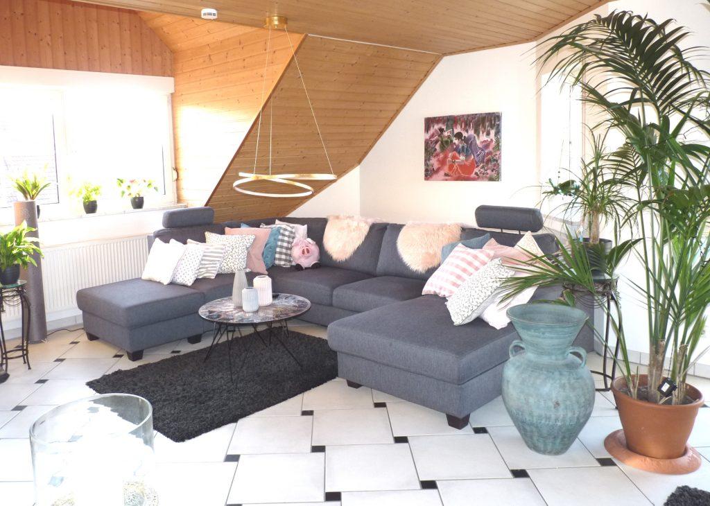 Wohnzimmer - 3Zi Wohnung in Diespeck